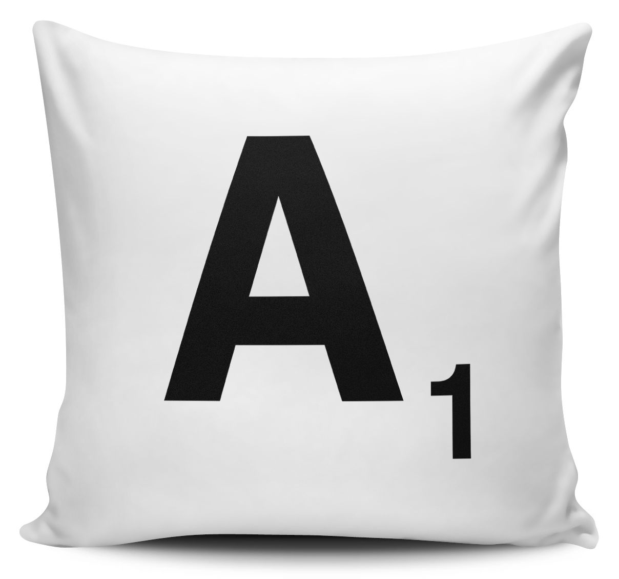 Letter Box Cover B Q: Alphabet Letter Scrabble Cushion Cover