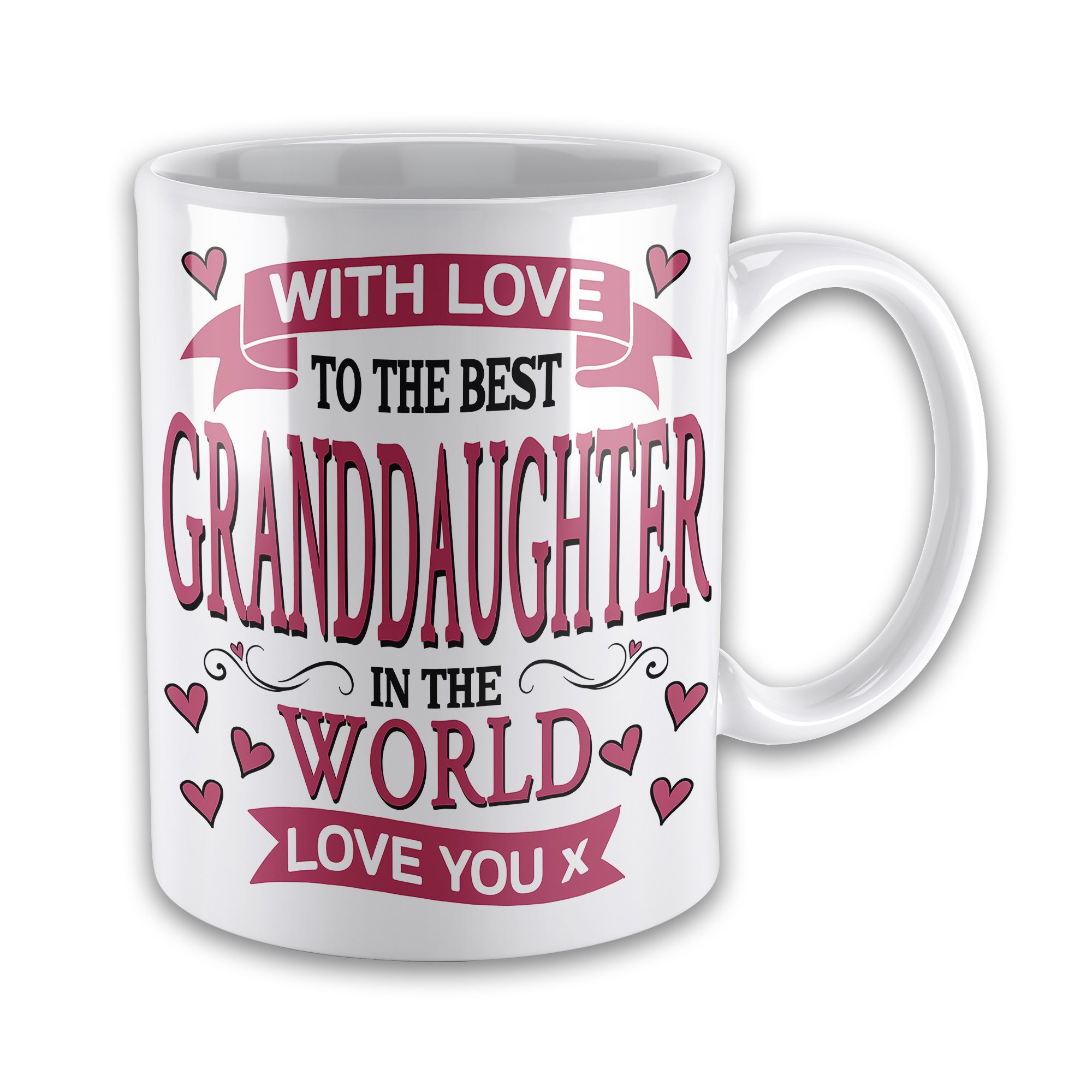 With Love To The Best Relative In World Lovely Novelty Gift Mug
