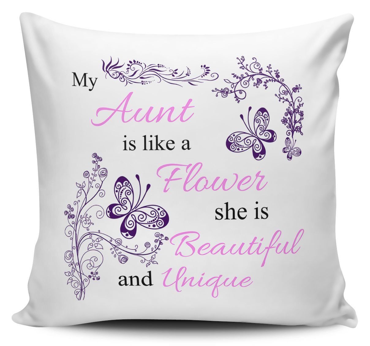My Like A Flower She Is Beautiful Unique Cushion Covers